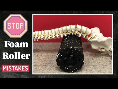 Foam Roller Mistakes! Watch Before You Foam Roll + Giveaway