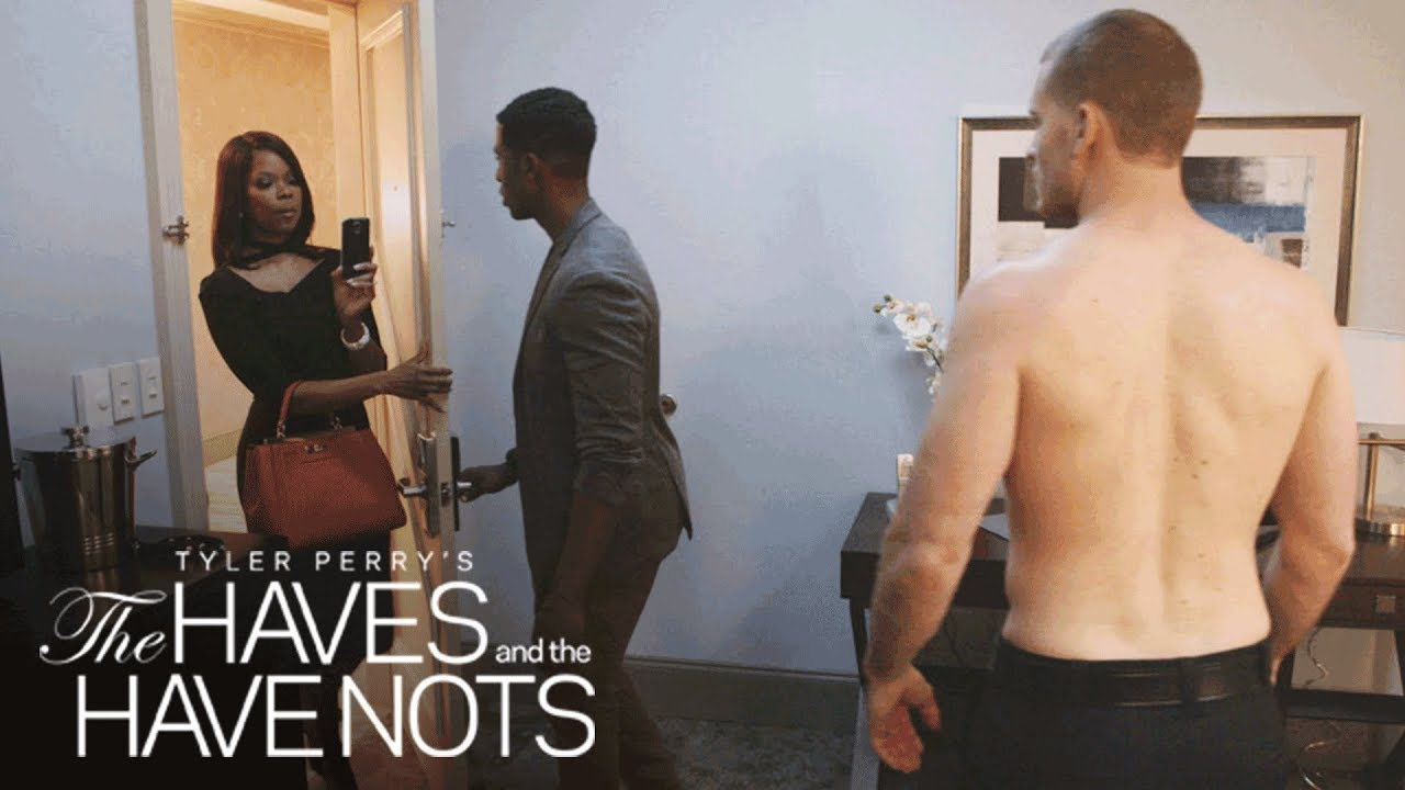 Download Jeffery and Officer Justin Get Caught on Camera | Tyler Perry's The Haves and the Have Nots | OWN