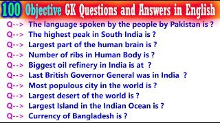 100 India Gk Questions and Answers in English || General Knowledge  Questions || Kids GK || Part-5