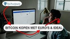 Bitcoin kopen bij Bitvavo met euro's en iDeal: Stappenplan 2020