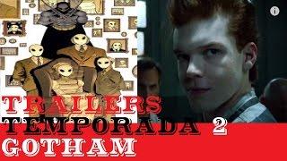"""Analizamos ultimos trailers de """"Gotham"""" 2a temporada"""