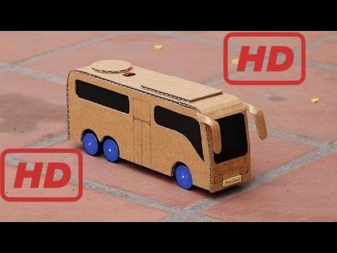 How to Make a Powered Bus - Luxury Bus Mini Gear