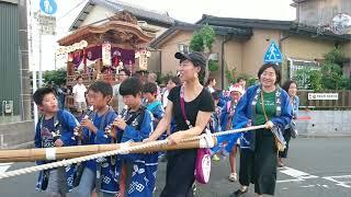 2018 曳馬町金屋の夏祭り②