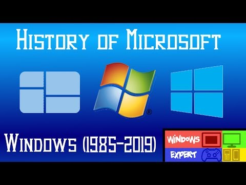 MICROSOFT WINDOWS HISTORY (1985-2019)