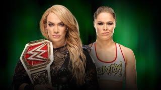 WWE Money In The Bank 2018 - Nia Jax Vs Ronda Rousey