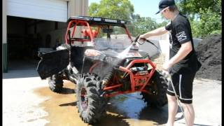 How to Detail a RZR for Warranty work