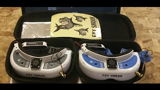 Review of the FatShark Dominator HDV2 Vs  V3