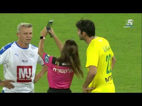 Ricardo Kaka And Beautiful Referee