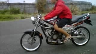Drag Bike Indonesia Fahmy #187 @ninja.3GP