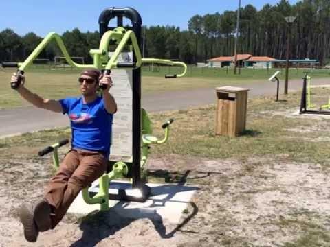 appareil musculation outdoor