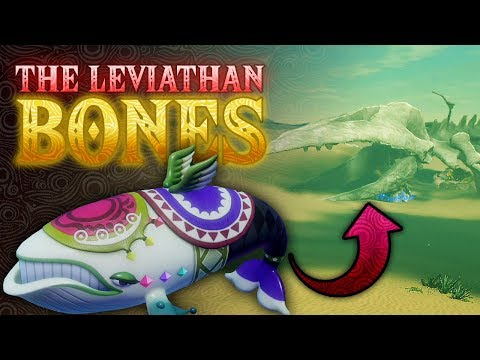 The Leviathan Bones - Breath Of The Wild (Wonders Of Hyrule)
