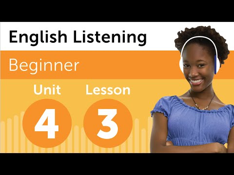 English Listening Comprehension - Renting a DVD in The U.S.A.