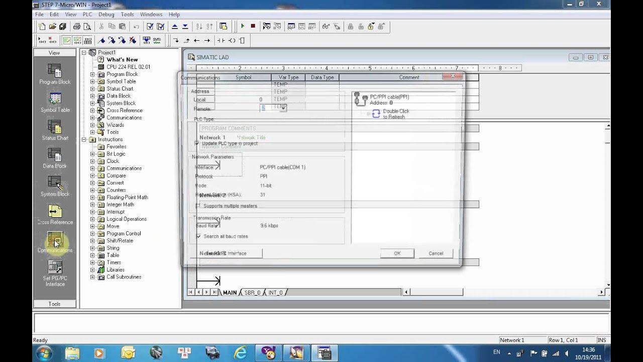 Demo#2 Autobase: Use Modbus Protocol Connect S7 200
