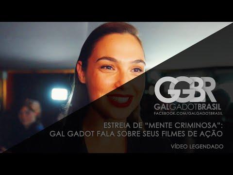 """Estreia """"Mente Criminosa"""" (Criminal): Entrevista com Gal Gadot [HD] (Legendado)"""