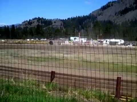 Eagle Track Raceway Modified Heat Race May 2nd 2015