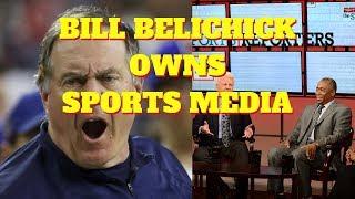 BILL BELICHICK Patriots Coach Owns Sports Media