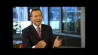 "Tony Abbott:""If you want to put a price on carbon why not just do it with a simple tax."""