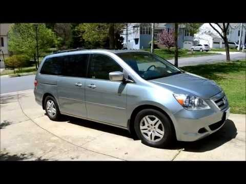 2005 Honda Odyssey EX-L  EXL Vehicle / Minivan Tour & Review
