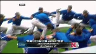 Baseball Rain Delay Dance In Fortnite Ncaa Baseball Rain Delay Dance Off Youtube