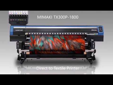 Mimaki TX300P Direct To Textile Printer (I-Sub Ltd UK Supply & Support)