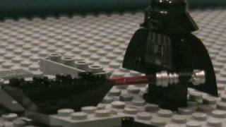 Repeat youtube video Darth Vader Builds His Lego Tie Fighter Advanced (8017)