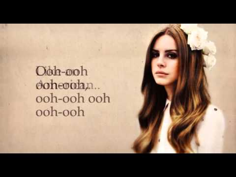 American by Lana Del Rey (Instrumental with Lyrics)