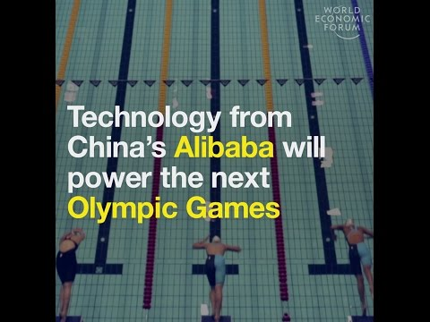 Technology from China's Alibaba will power the next Olympic Games
