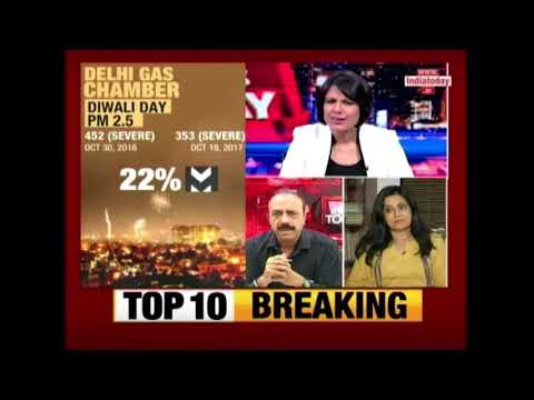 News Today: Delhi Cleaner Than Last Diwali