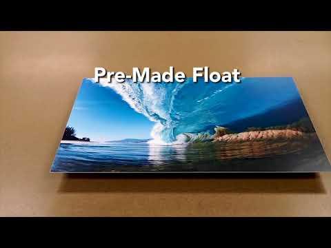 Image Wizards Metal Prints Frame Option Video