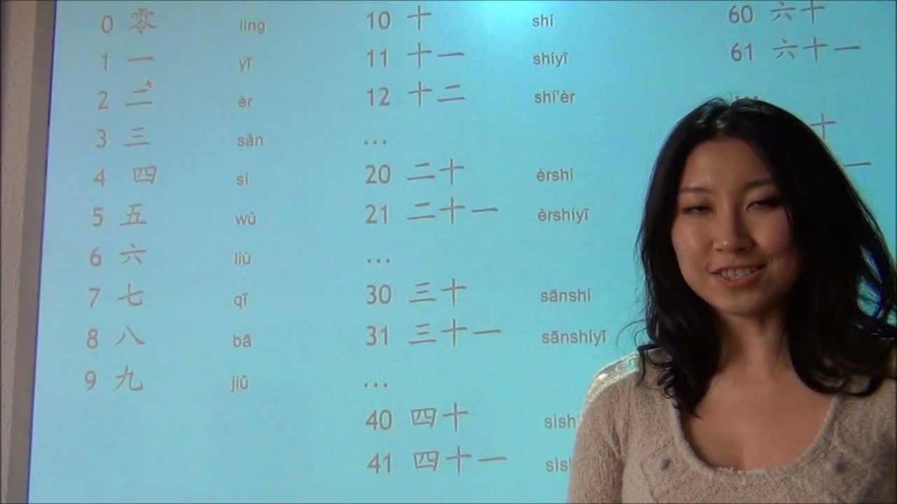 Los n meros en chino clases de chino ii youtube for Como se cocinan los percebes