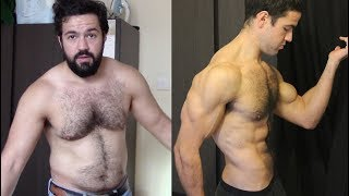 100 Days Sober Weightlifting Transformation [Before / After Results]