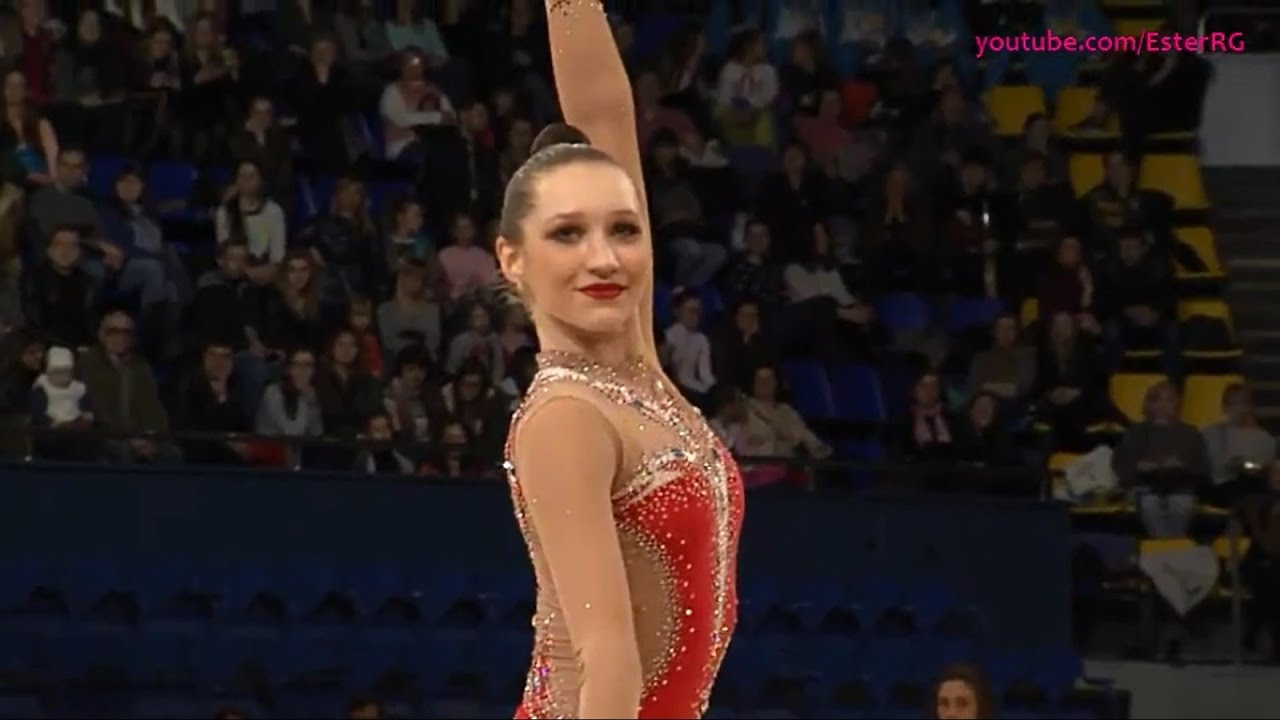 Polina Khonina Ribbon EF - GP Kiev 2017 - YouTube