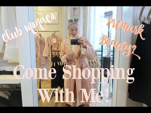 COME SHOPPING WITH ME  |  Club Monaco Haul & Primark Beauty Dupes?!    |   Fashion Mumblr Vlog