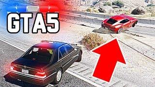 Полицейские Будни  - Погоня на Высокой Скорости - GTA 5