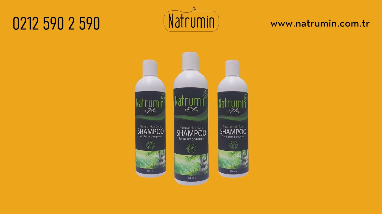 Natrumin Saç Derisi Uzmanı Su Katkısız Şampuan