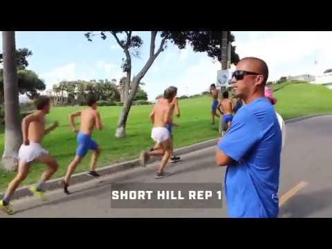 Workout Wednesday: Dana Hills Runs Beach Hill Repeats