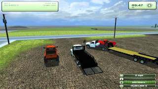 Farming Simulator 2013 Mods - Dodge 2500 Lifted, Landscape truck, 82 Silverado