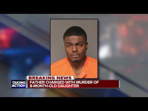 Detroit father charged in baby death