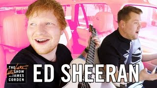Gambar cover Ed Sheeran Carpool Karaoke