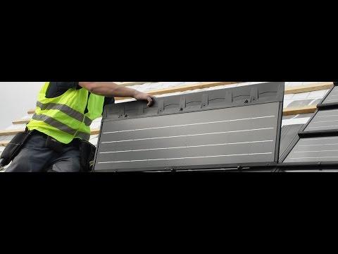 Installing C21e Solar Tiles - Award Winning Solar Energy - Solarcentury