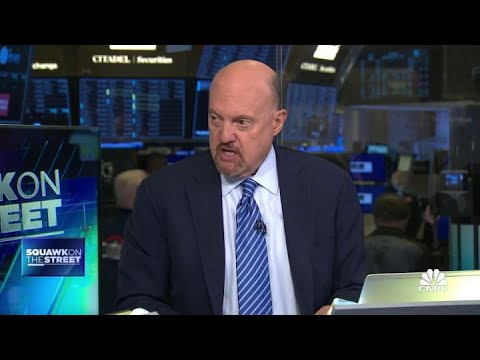 Jim Cramer on what he suspects is causing the 10-year bond yields to slide