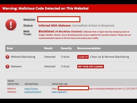 SoakSoak WordPress Malware - How To Fix It