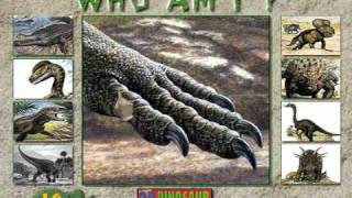 Who Am I? Game from 3-D Dinosaur Adventure MS-DOS/Packard Bell Version