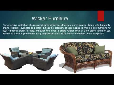 wicker paradise buy quality furniture online youtube