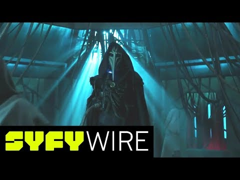 12 Monkeys Cast P Finale and What's to Come  San Diego ComicCon 2017  SYFY WIRE