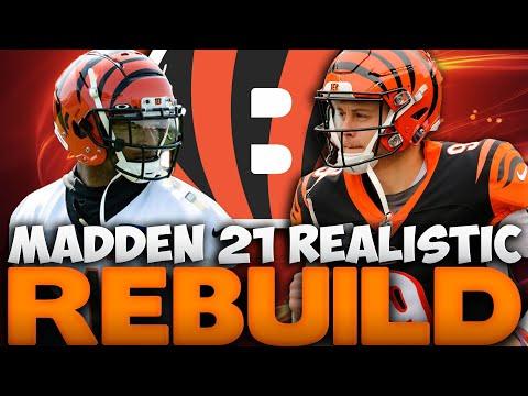 Joe Burrow To Ja'Marr Chase Is Unstoppable! Cincinnati Bengals Realistic Rebuild! Madden 21 Rebuild