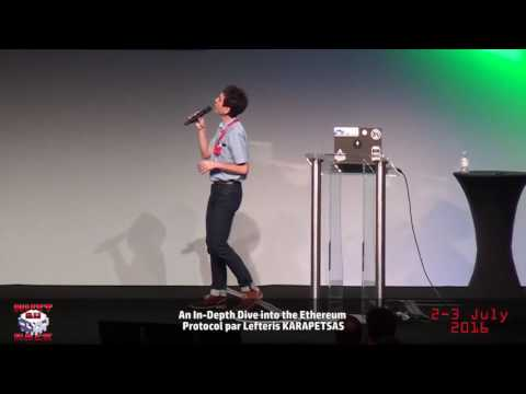 HackerZVoice - NDH2K16 - An In-Depth Dive into the Ethereum Protocol with Lefteris KARAPETSAS