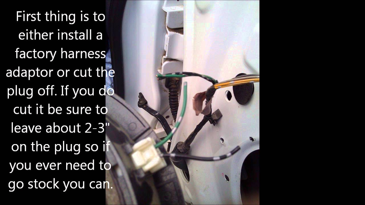 nissan frontier wiring diagram image 05 nissan frontier king cab rear speaker install on 2016 nissan frontier wiring diagram