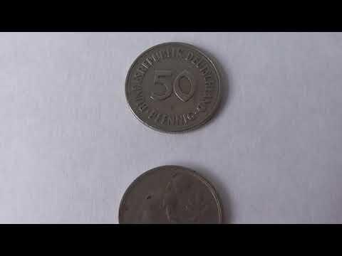 50 Pfennig Germany 1970 F   Deutsche Mark Coin