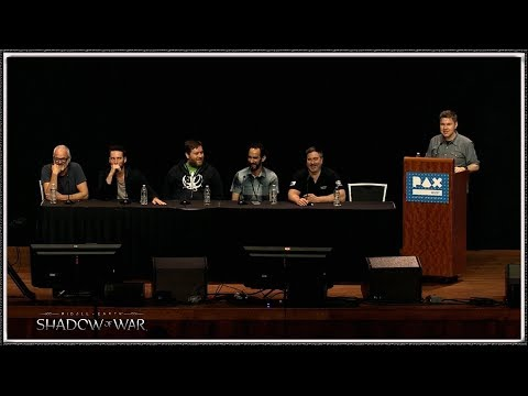 Pax West 2017 - Middle Earth Shadow of War Full Panel (HD) (1080p60)